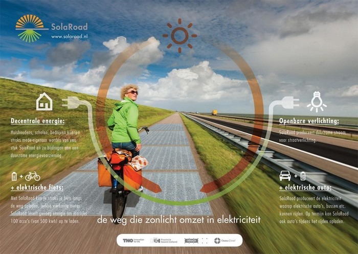 SolaRoad – солнечные велосипедные дорожки для Нидерландов