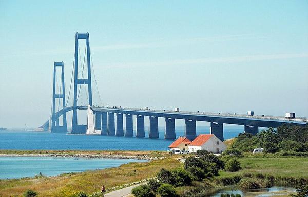 Мост Большой Бельт, Дания