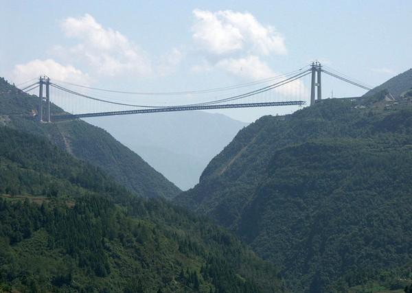 Мост через Сыдухэ, Китай