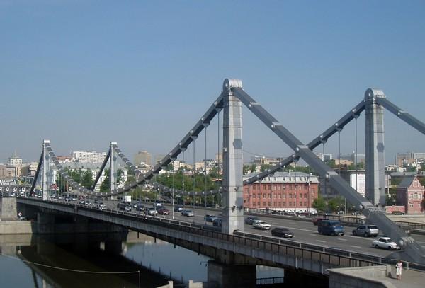 Крымский мост, Москва, Россия