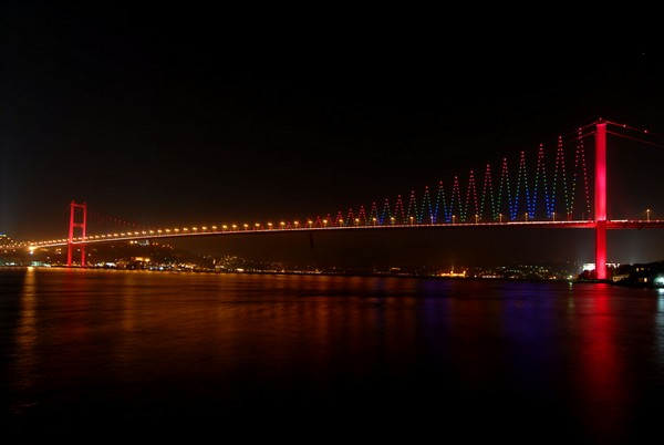 Босфорский мост, Стамбул, Турция