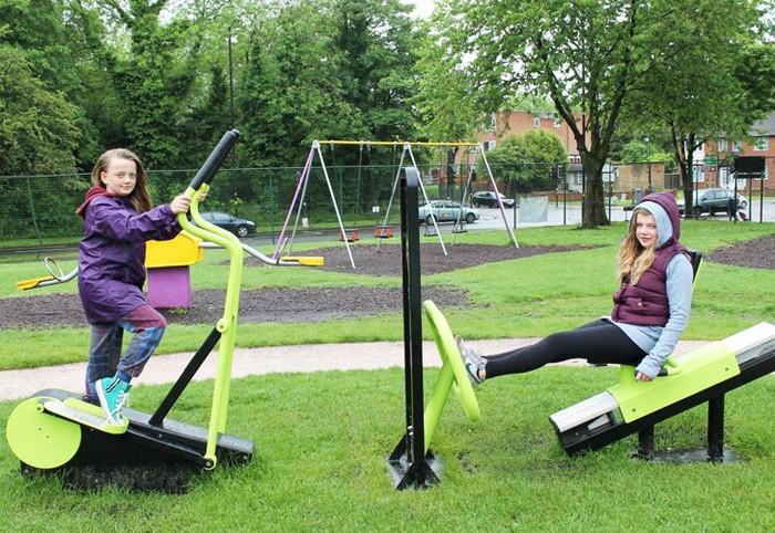 Green Heart – спортивная площадка, которая превращает сожженные калории в электроэнергию