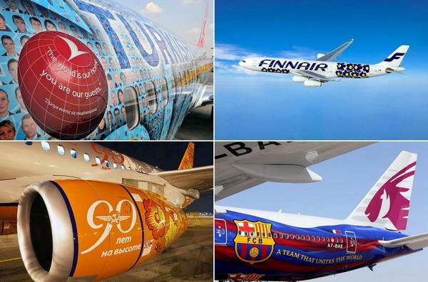 Самые необычные изображения на самолетах
