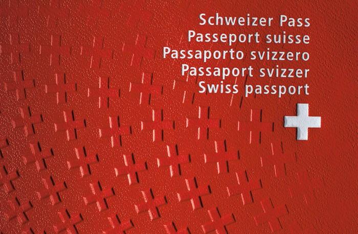 Красивый и необычный паспорт гражданина Швейцарии
