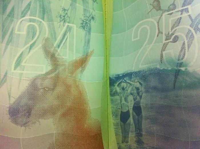 Красивый и необычный паспорт гражданина Австралии