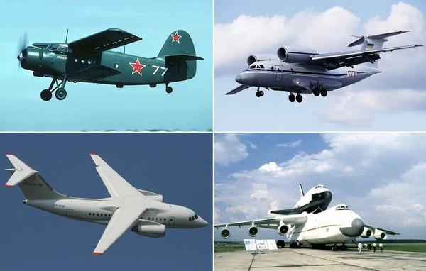 Лучшие самолеты под маркой АН