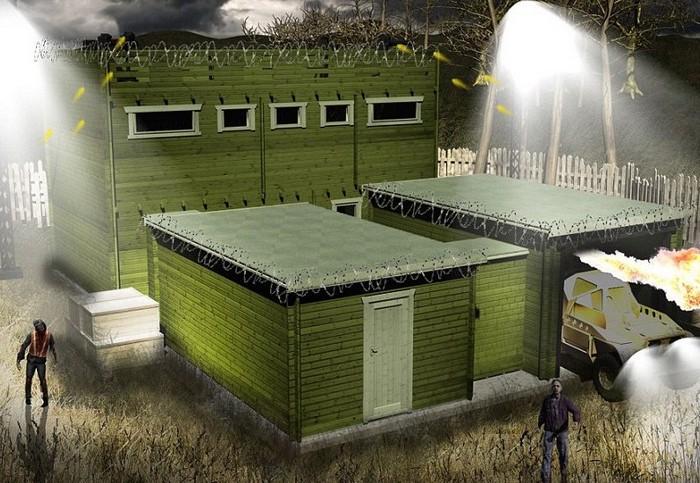 Zombie Fortification Cabin – убежище на случай зомби-апокалипсиса