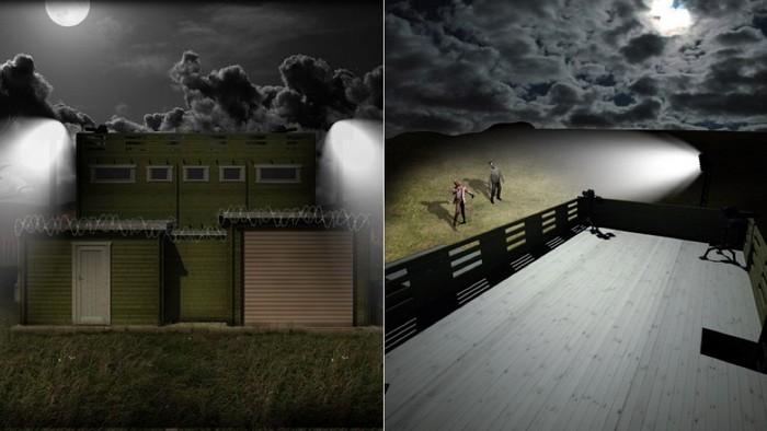Zombie Fortification Cabin – убежище против зомби