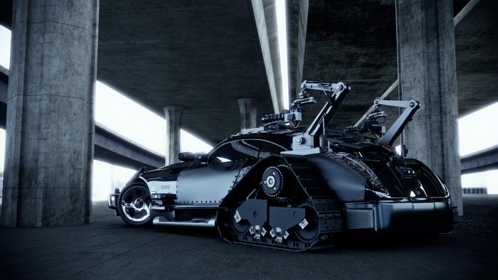 Maybach Exelero Zombie – автомобиль для зомби-апокалипсиса
