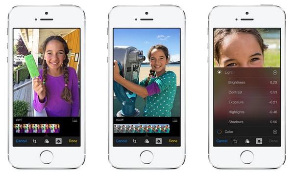 Работа с фотографиями в мобильной операционной системе iOS 8