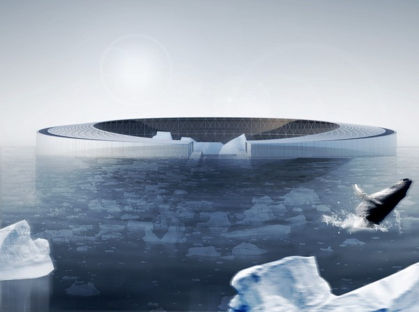 Arctic Harvester – плавающая ферма для Гренландии. Источник фото: archdaily.com