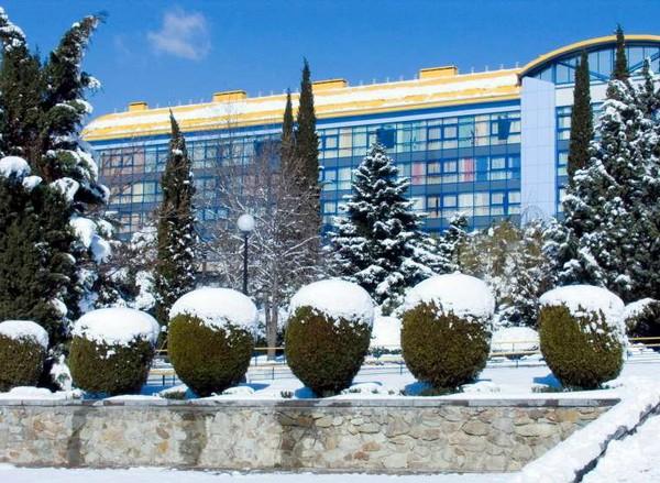 Артек зимой. Источник фото: childrens-tourism.com