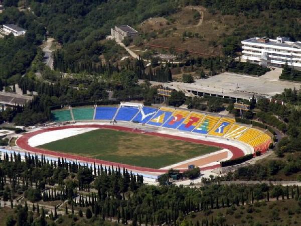 Стадион лагеря Артек. Источник фото: avialine.com