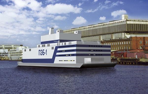 Плавучая атомная станция «Академик Ломоносов»