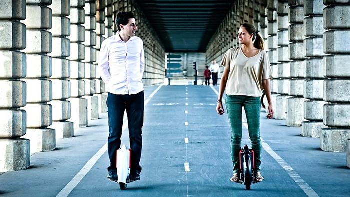 Solowheel – компактный скутер с одним колесом