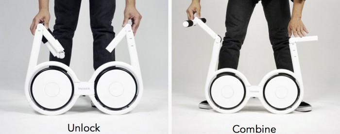 Impossible – компактный электроскутер весом 5 килограммов
