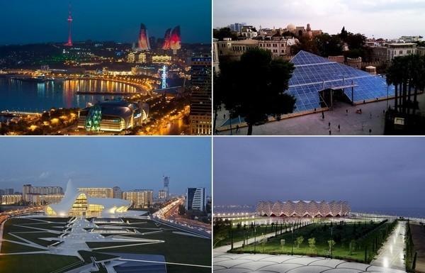 Самые необычные современные здания в Баку
