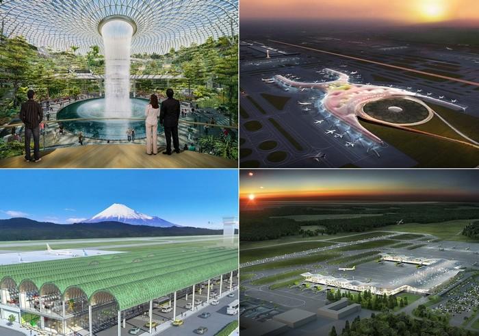 Самые потрясающие строящиеся в 2015 году аэропорты