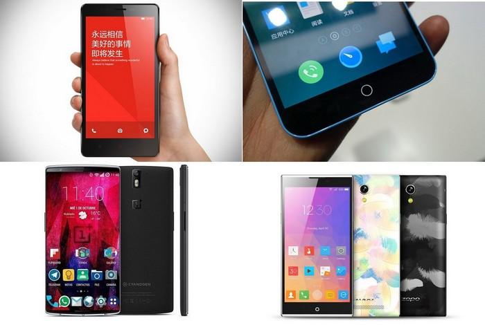 Лучшие китайские смартфоны 2015 года