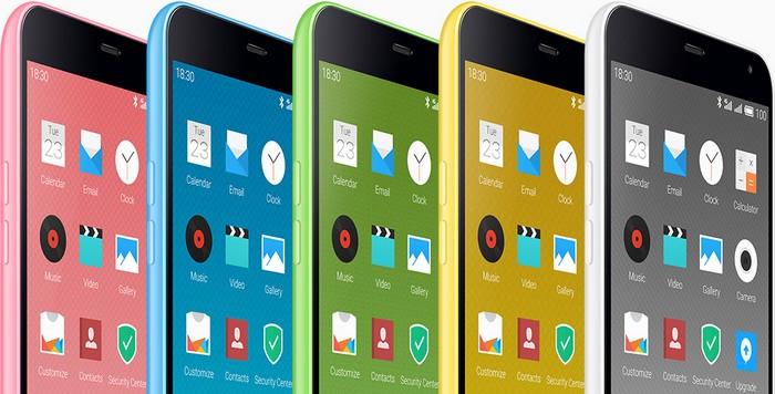 Дешевый китайский смартфон Meizu M1 Note