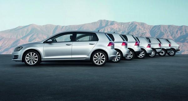 Автомобиль Volkswagen Golf