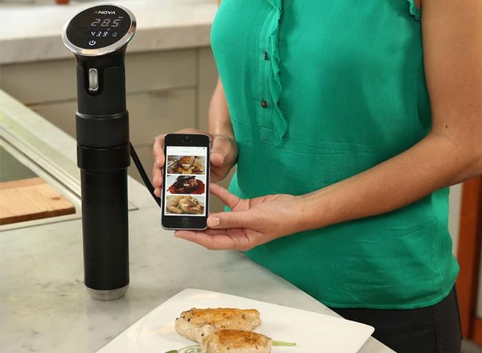 Anova Precision Cooker – электронный помощник на кухне, использующий iPhone