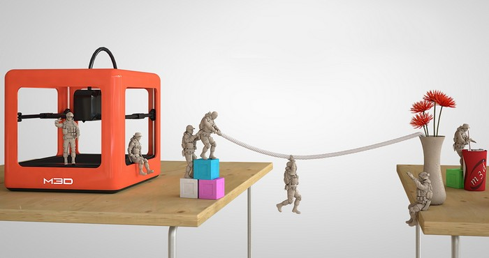 Домашний 3D-принтер Micro от компании M3D
