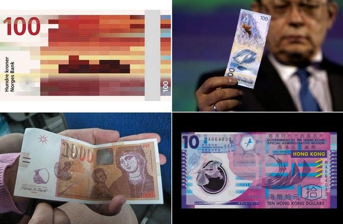 Самые необычные денежные купюры современности