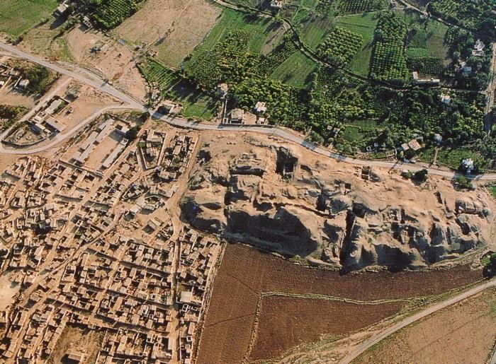 Раскопки древнего города Иерихон