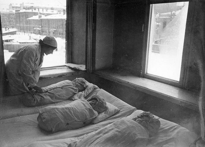 Родильный дом в блокадном Ленинграде