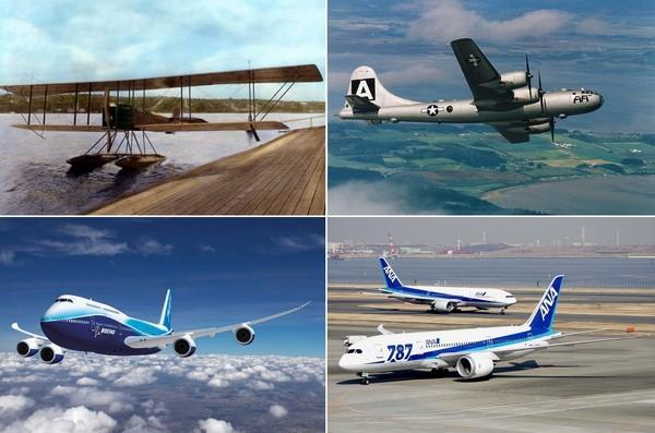 Легендарные самолеты от Boeing