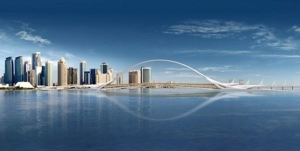 Sharq Crossing Bridge – мост от Сантьяго Калатравы для города Доха