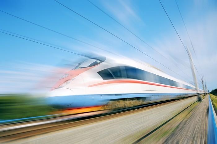 Китайский высокоскоростной пассажирский поезд