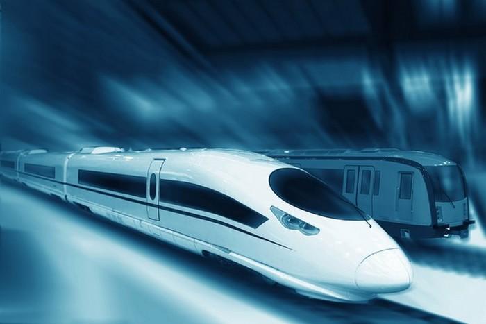 Китайские скоростной поезд из Пекина в Лос-Анджелес