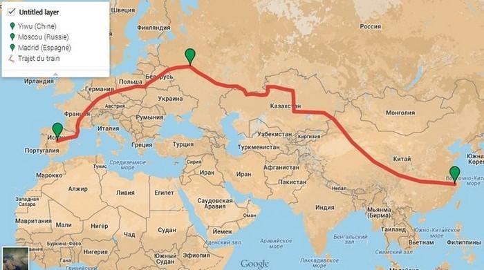 Поезд москва-пекин схема движения