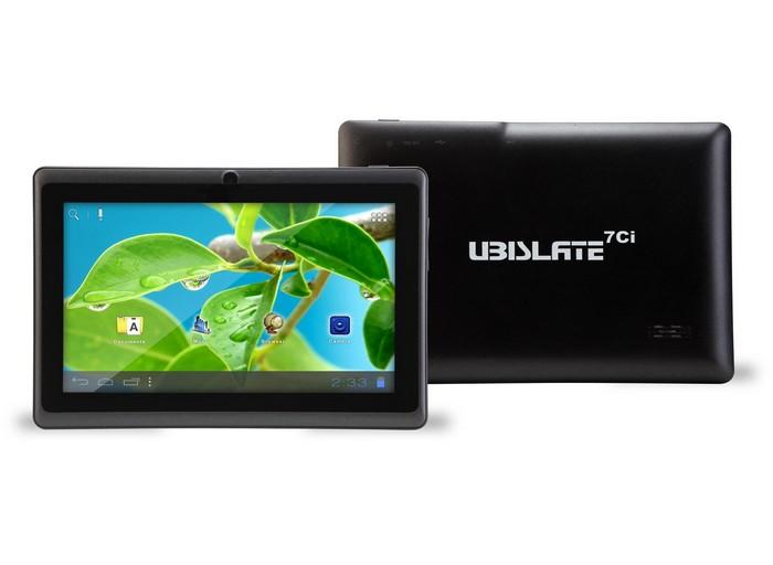 Datawind UbiSlate 7Ci – самый дешевый в мире планшетный компьютер