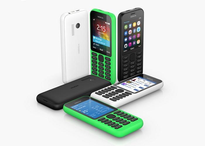 Nokia 215 – телефон за 29 долларов с возможностью выхода в Интернет