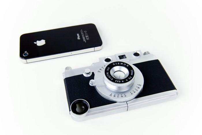 Gizmon iCa – чехол, который превратит iPhone в полноценный фотоаппарат