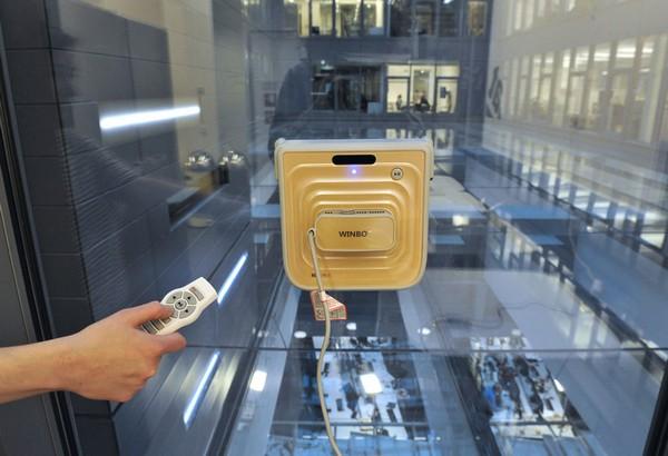 Winbot – робот для мытья окон