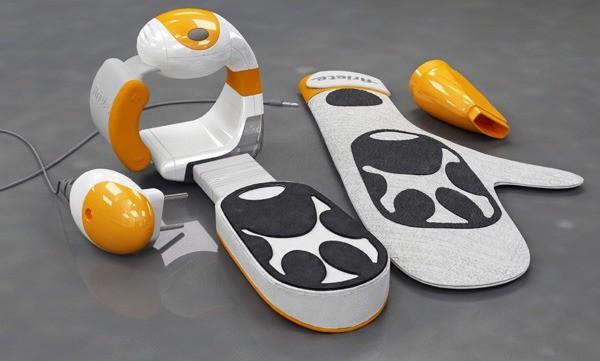 Ручной пылесос-перчатка Magic Glove