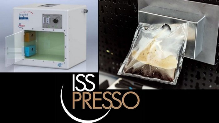 ISSpresso – кофейный автомат для Международной Космической Станции