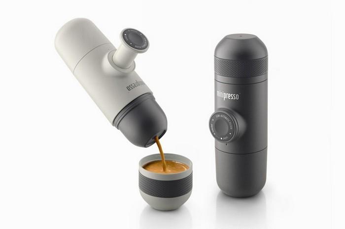 Minipresso – карманная кофеварка для любителей эспрессо