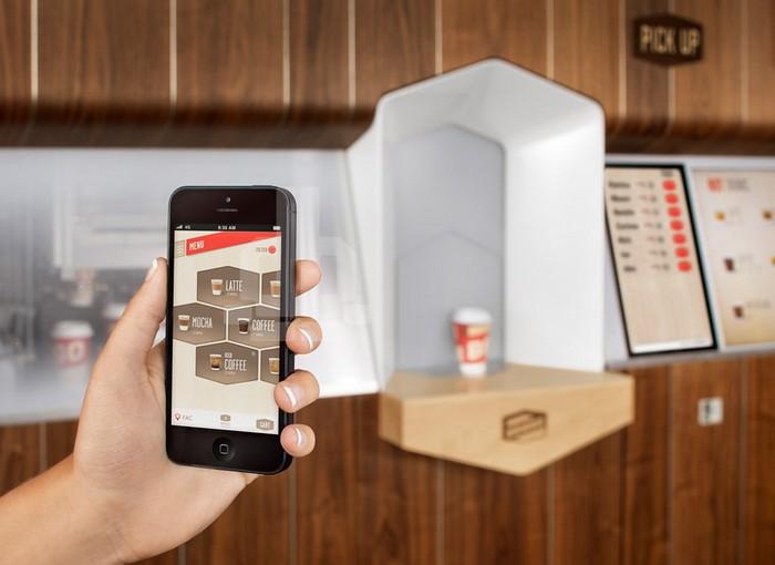 Coffee Haus – интерактивный кофейный киоск