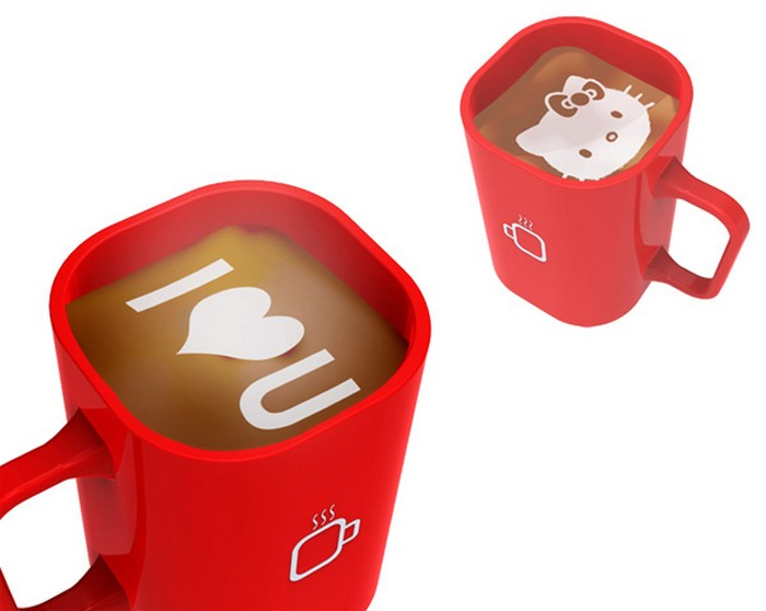 iCoffee Machine – кофейный автомат, который умеет рисовать
