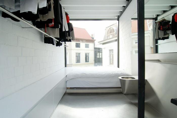 Очень узкий жилой офис компании Sculp(IT)