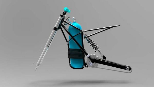 Yamaha WR250R – первый мотоцикл на сжатом воздухе