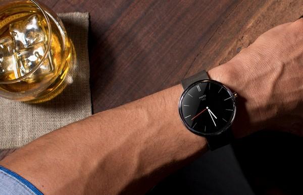 Умные часы Moto 360 от Motorola. Источник фото: droid-life.com