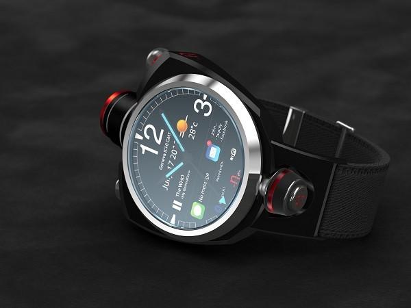 Hyetis Crossbow – умные часы с камерой на 41 мегапиксель. Источник фото: techielobang.com