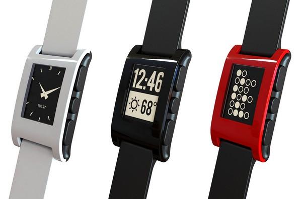 Pebble – умные часы с экраном на электронной бумаге. Источник фото: digitaltrends.com