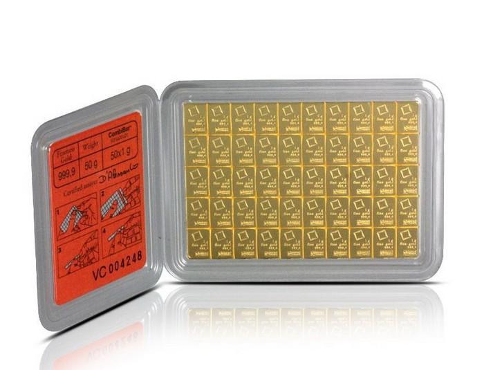 GOLD CombiBar – золотой слиток размером с кредитную карту